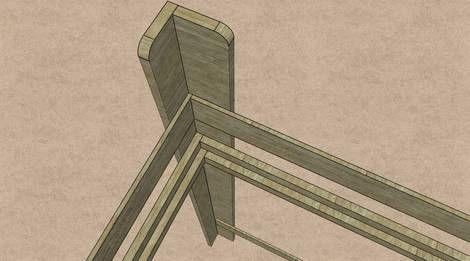 hochbett verbindung beim bettpfosten hochbett selber bauen pinterest. Black Bedroom Furniture Sets. Home Design Ideas