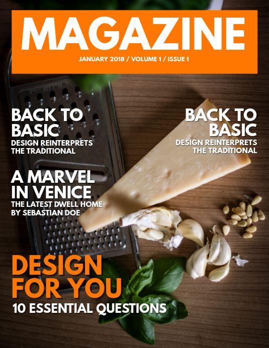 Download Modern Nature Magazine Cover Template With Photo For Free Magazine Cover Template Cover Magazine Cover