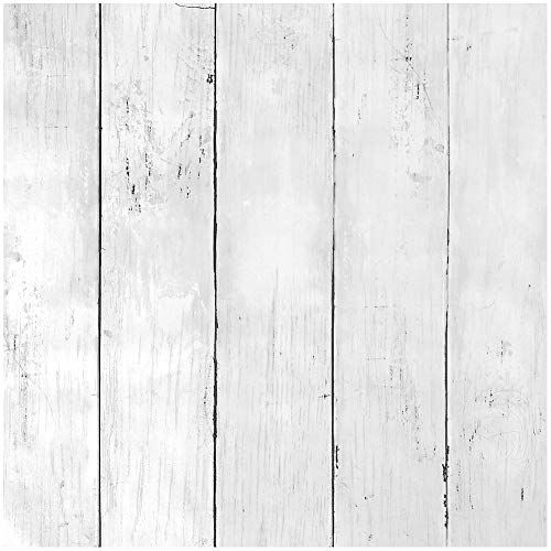 Livelynine Self Adhesive Shiplap Peel And Stick Wallpaper For Walls White Wood Contact Paper Decorative Remo Wood Adhesive Wood Plank Walls Peel And Stick Wood