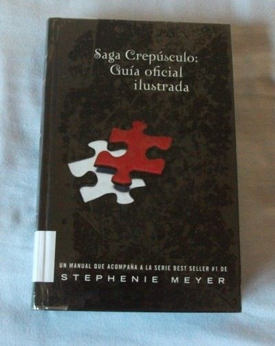Saga Crepúsculo Guía Oficial Ilustrada