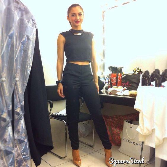 Iya Villania wearing Micah Lacap