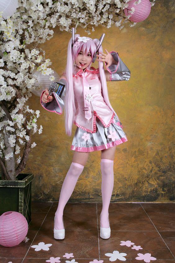 Character: Sakura Miku Cosplay  Cosplayer: Princess Tomia  Nationality: Korean