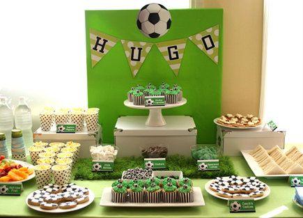 tellastella / Tella S Tella : Futebol : bolos decorados Soccer themed birthday - blog (in Spanish)