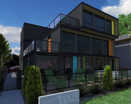 trendy shipping container apartment building | Ideas for the Home ...