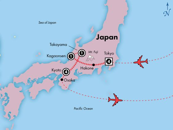 Discovery: 12 Day Japan, Then & Now, Including Airfare - www.discovery-tours.com