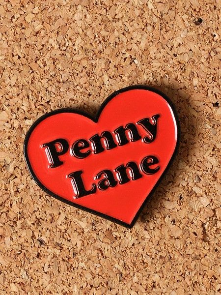 Penny Lane Enamel Pin - Gypsy Warrior
