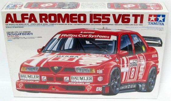Alfa Romeo 155 V6 T1  Tamiya kit #24137 - 1/24 scale Discontinued - Shore Line…