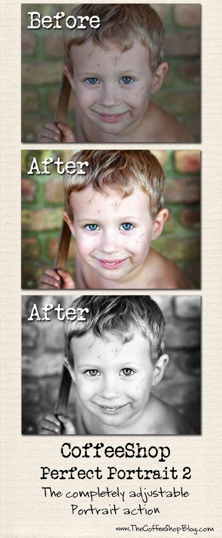 CoffeeShop Photoshop actions & presets
