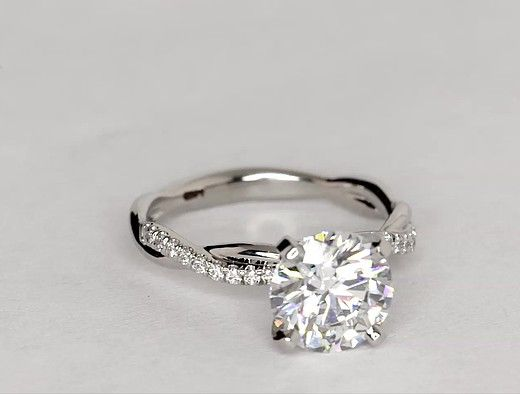 Pin By Megan Burgess On Wedding Fever In 2020 Twist Diamond Engagement Rings Engagement Ring Shapes Unique Engagement Rings
