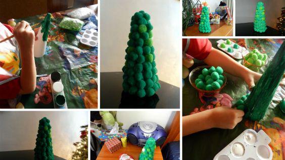Árbol de Navidad de unicel
