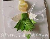 TONS of Disney Princess ribbon hair clip ideas.. :