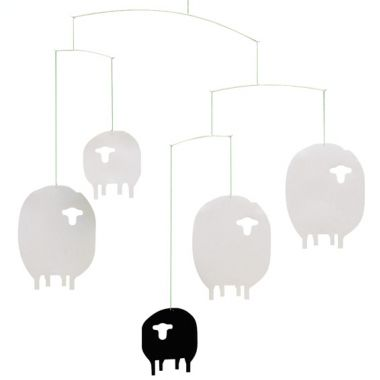 things i like - sheep mobile by flensted by christina perret