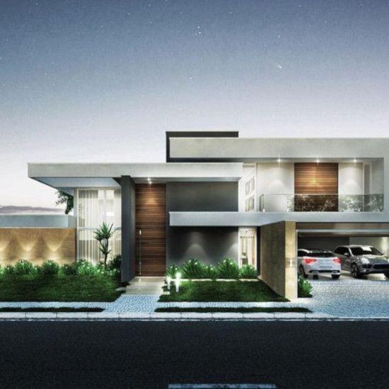 37 Desain Rumah Minimalis Inspiratif Dengan Atap Datar Desain