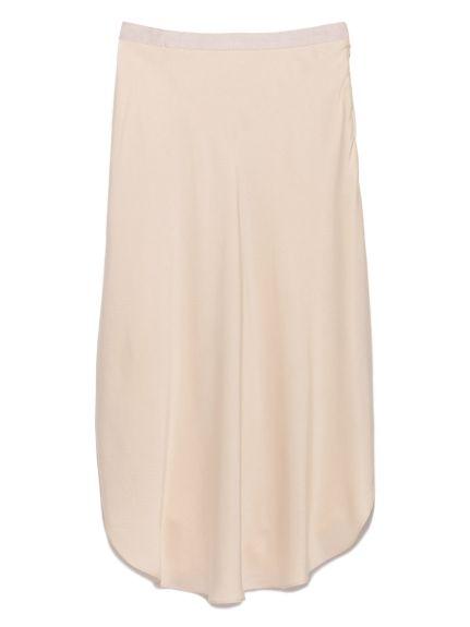 Asymmetry Silk Skirt(膝丈スカート)|styling/(スタイリング)|ウサギオンライン公式通販サイト