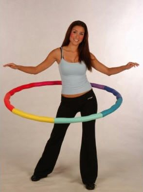 Weighted hula hoop benefis!