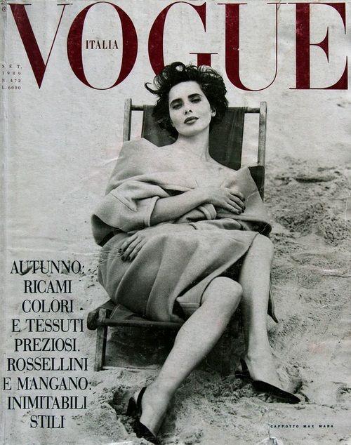 Isabella for Vogue Italia, September 1989