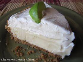 Big Mama's Home Kitchen: Key Lime Pie ~ Easy No Bake