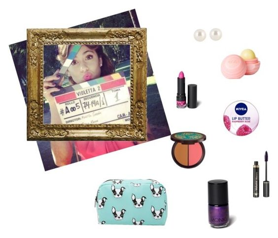 """violetta beuty"" by vilovi ❤ liked on Polyvore featuring beauty, Henri Bendel, dELiA*s, Monki, Nivea, tarte, Dr.Hauschka and Forever 21"