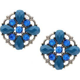 Edgy Flower Earrings