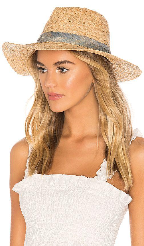 Hat Attack Seashore Rancher Hat In Blue Revolve Autumn Fashion Women Womens Beach Hat Hat Fashion