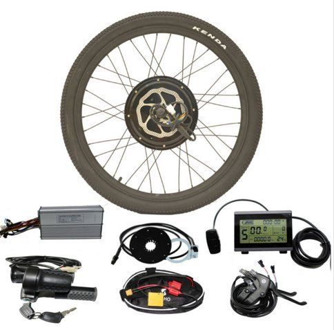 48v 1000 Watt Hub Motor Conversion Kit Electric Bike Kits