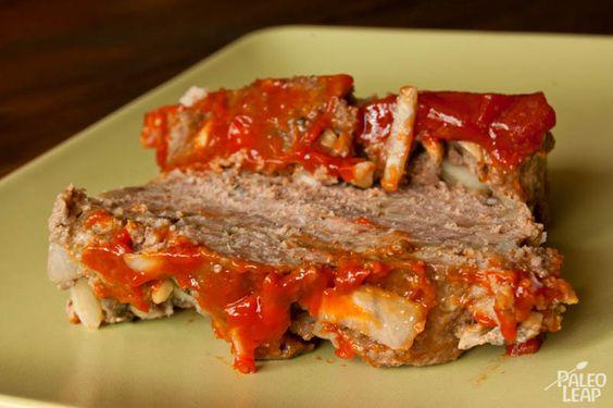 Paleo meatloaf, Paleo and Meat loaf on Pinterest