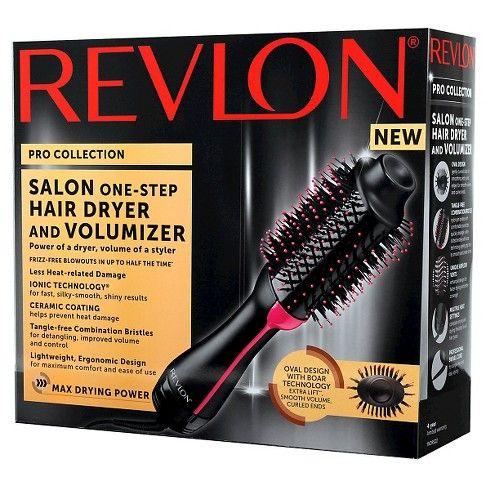 Revlon Salon One Step Hair Dryer And Volumizer Black Hair Dryer Revlon Hair Without Heat