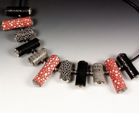 how to make leather jewlery beads