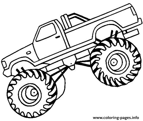 Monster Truck Coloring Pages Batmanmonstertruckcoloringpages Bigmonstertruckcoloringpages Bigfootm Carros Para Colorear Dibujos De Monster Camioneta Dibujo