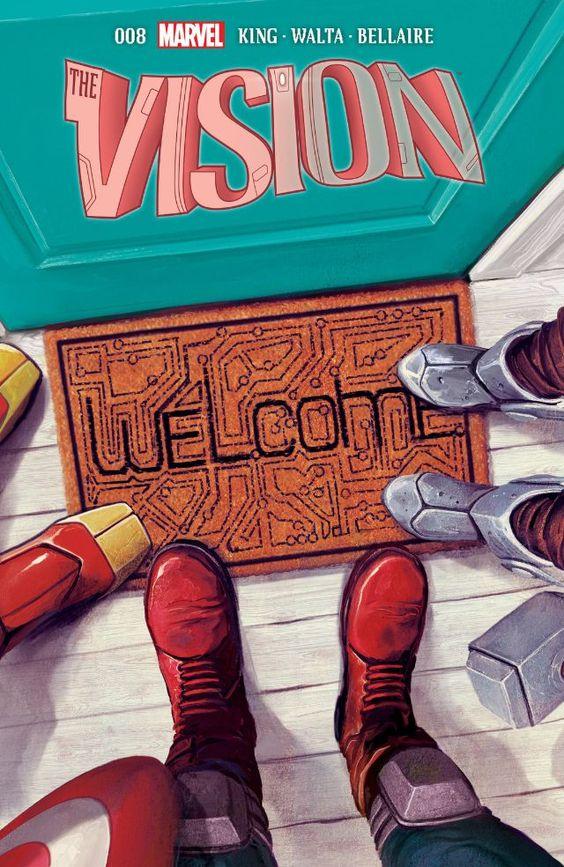 #Vision (2015) #8 #Marvel @marvel @marvelofficial (Cover Artist: Mike Del Mundo) Release Date: 6/8/2016