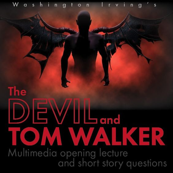 the devil and tom walker mood Essays from bookrags provide great ideas for the devil and tom walker essays and paper topics like essay view this student essay about the devil and tom walker.