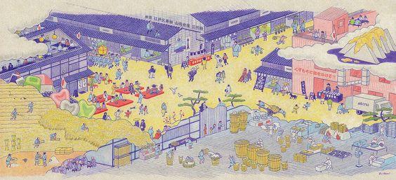 Picture scroll for Edo Kuzumochi Yamashin Food Co.