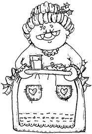 dibujos de mama noel - Buscar con Google