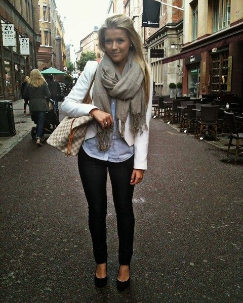 Grey, Blazers and Pants on Pinterest