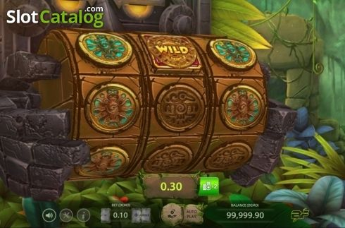 Screen 2 Aztec Adventure Video Slot From Bf Games Bf Game Aztec Games