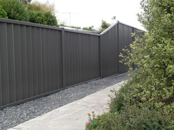 Dark grey fence paint google search house exterior Fence paint colors ideas