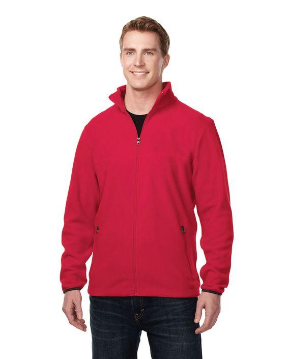 Mens polar slash zippered fleece jacket with pockets. Tri mountain F7608 #bachlor #greatoffer #comfortable