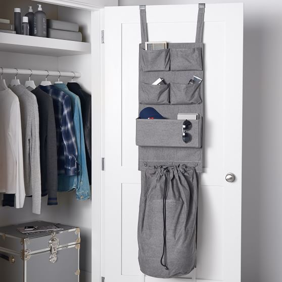 Over The Door Organizer With Hamper In 2020 Over The Door