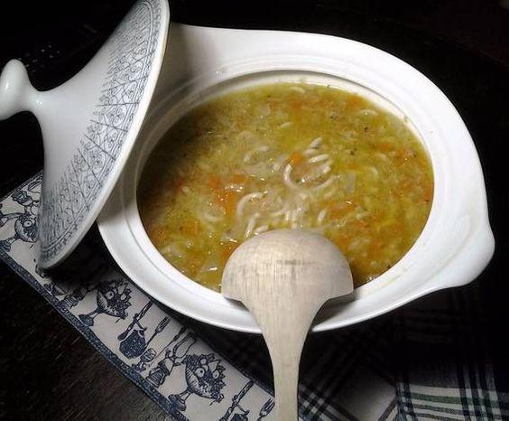 Sopa minestrone a mi manera