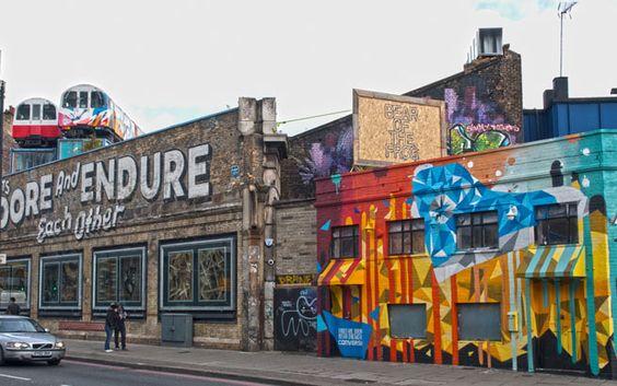 Shoreditch : Ein Spaziergang durch das Trendviertel – Street-Art