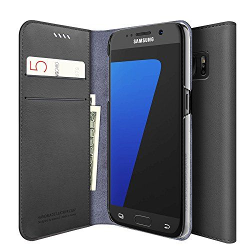 Galaxy S7 Case, Araree® [Mustang] Premium PU Leather Wallet Case Flip Cover with Credit Card ID Holder for Samsung (2016) (CHARCOAL GRAY) araree http://www.amazon.com/dp/B01BWEZ7I2/ref=cm_sw_r_pi_dp_ey91wb0539KYK