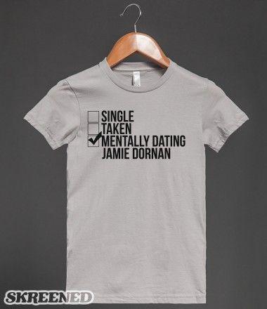 Mentally Hookup Jamie Dornan T Shirt
