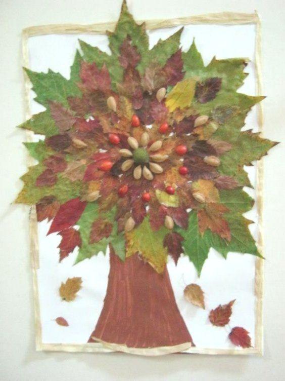 Herbstblatter Kreative Deko Und Bastel Ideen Bastelideen