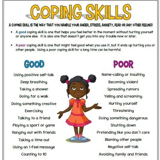 A Coping Skill Is A Way That You Handle An Emotion Or Feeling Speaking Very Generally Coping Skills Can Be Either Coping Skills How Are You Feeling Emotions