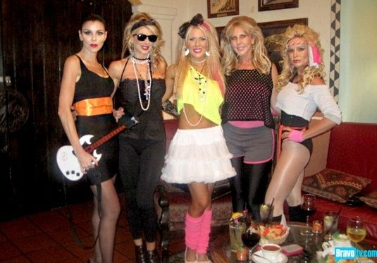 80s party costume ideas. Alexis Bellino, Gretchen Rossi, Heather Dubrow, Tamra Barney, Vicki Gunvalson