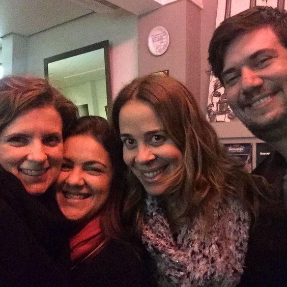 My dream team! @marilobo41 @instaalfr @renatinhasmoreira  Só falta você @ulaarte