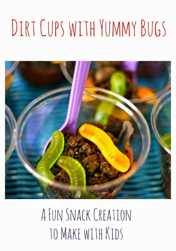 Dirt Cup Recipe || The Chirping Moms