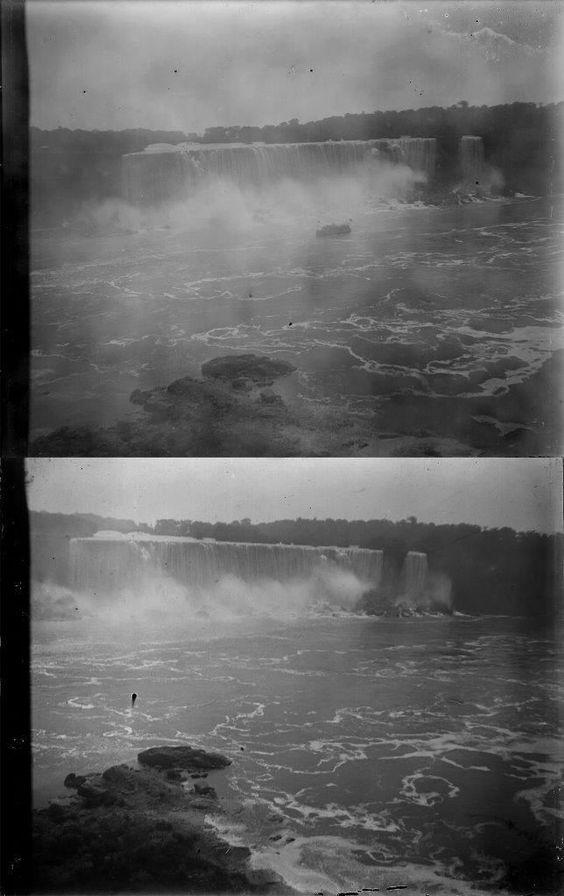 Two Vintage 4x5 Glass Negatives Taken at Niagara Falls New York C 1914 | eBay