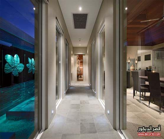 جبسيات مداخل وممرات ديكورات جبس اقواس مداخل قصر الديكور Corridor Design House Luxury Interior