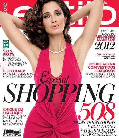 Camila Pitanga - Estilo De Vida Magazine Cover [Brazil] (December 2012)